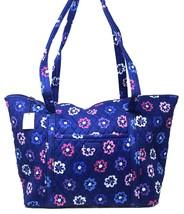Vera Bradley Miller Bag in Ellie Flowers with Purple Interior - NWT - $67.95