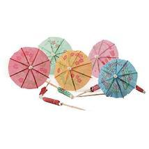 East Majik Umbrella Cocktail Picks Cupcake Toppers 160 Packs - Assorted ... - $19.11