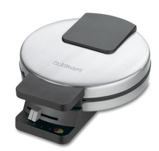 Round Nonstick Classic Waffle Maker 4 Quarters with 5 Settings Browning ... - $58.96 CAD