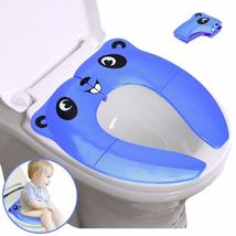 Potty Training Seat Portable Folding Large Non-Slip Silicone Pads Travel... - $10.94