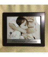 """Picture Frame Friendship Forever 5""""x 7"""" Photo  Black Wood Look By Burnes... - $16.73"""