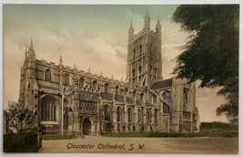 Old DB Postcard Frith's Series Gloucester Cathedral, SW England 1891 Pic... - $24.45