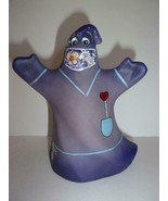 Fenton Glass Purple One Day At A Time Halloween Ghost Figurine LE 17/18 ... - $251.72