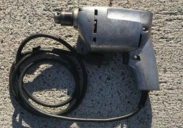 """Electric Drill  Stanley 1/4""""    80041 - Rare - Works Good - $20.00"""