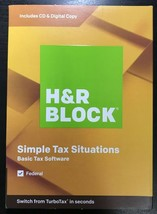 2019 - H&R BLOCK Tax Software Basic 2019 for PC/MAC New Sealed - $5.71
