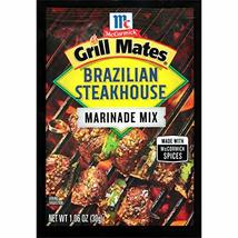 McCormick Grill Mates Brazilian Steakhouse Marinade Mix, 1.06 oz - $4.90