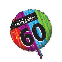 Metallic Balloon 60th Milestone Celebrations/Case of 12 - ₨3,123.26 INR