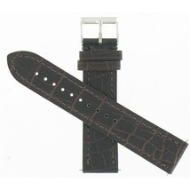 Swiss Army Brand 21mm Brown Leather Alliance Chrono Series Watch Band 003680 - $108.90