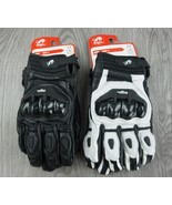 Leather Racing Glove Motorcycle Gloves ride bike driving - $46.85