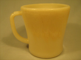 [Y13] Vintage FIRE KING 8 oz Coffee Cup White Milk Glass - $14.35