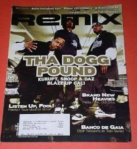 Snoop Dogg Kurupt Daz Blaze Remix Magazine and 24 similar items