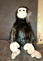 NEW Ty Beanie Baby WEAVER the Monkey NWT Plush Animal Toy Retired - $2.99