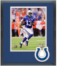 T.Y. Hilton Indianapolis Colts 2013 Playoff -11x14 Team Logo Matted/Framed Photo - $43.55