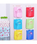 New Cute New Wall Hanging Storage Organizer Bag Pocket - $3.76