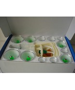 12 Cups Chinese VACUUM CUPPING SET Magnetic Acupuncture Therapy Suction - $17.82