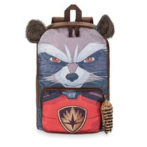 Guardians Of The Galaxy Rocket Raccoon 3D Backpack Brown - $27.98