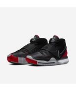 Nike Kyrie 6 Irving Black/Red Bred Mens Basketball 2020 All NEW  - $133.60+