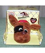 "Pound Puppies Newborn Puppy Brown 7""L Mini Plush New - $14.50"
