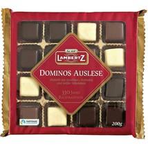 Lambertz Aachener Dominos: MIX Dark Milk White Chocolate 200g FREE SHIPP... - $10.88