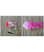 Handmade Fish Cat Toy with Catnip and Silver Vine Mix - $4.94+
