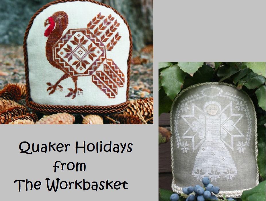 Quaker Holidays cross stitch chart The Workbasket  - $10.80