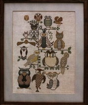 Hootenannies cross stitch chart The Workbasket  - $10.80