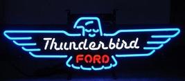 "Ford Thunder Bird Us Auto Car Neon Light Sign 24"" x 12"" - $699.00"