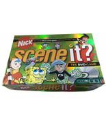 2006 Nick Scene It Trivia DVD Board GameNickelodeon Edition Complete - $23.76