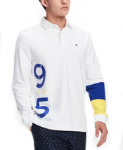 Tommy Hilfiger Men's Lance Rugby Shirt (White, 2XL) - $59.07