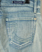 Rock & Republic Roth Ion Blue Jeans 29 USA Bootcut 2154 Womens - $38.90