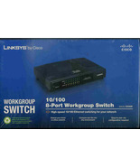 LINSKYS Internet  Switch -Cisco  10/100 -8 PORT Workgroup  Switch - $19.95