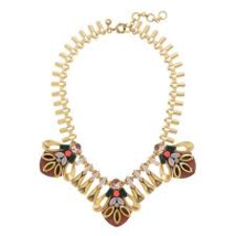 J.Crew Womens CRYSTAL HIVE NECKLACE~*Pale Terra... - $69.00