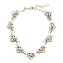 J.Crew Womens JEWELED ARROWS NECKLACE~*Crystal*~  - $1.084,92 MXN