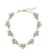J.Crew Womens JEWELED ARROWS NECKLACE~*Crystal*~  - £43.69 GBP