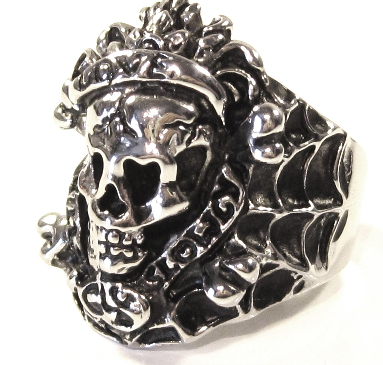 Ssr7000 love kills slowly men stainless steel ring
