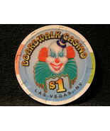 "$1.00 CASINO CHIP FROM: ""THE BOARDWALK CASINO"" - (sku#2651) - $4.99"