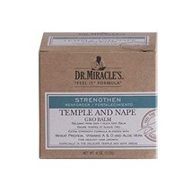 Dr. Miracle's Temple and Nape Gro Balm, 4 oz Bundle of 3