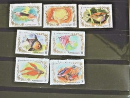 Ajman Set of 7 Stamps  Cancelled Free Shipping #700111 - $1.68