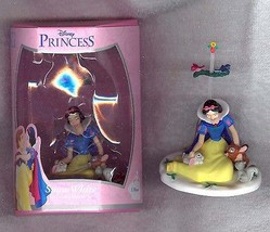 Snow White with Animals movable Disney  Figurine ornament - $24.99