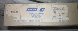 "10x Norton Resinall Garnet Plyweld Belt 2.25"" x 60"" 150-X Cloth Type Ope... - $15.83"