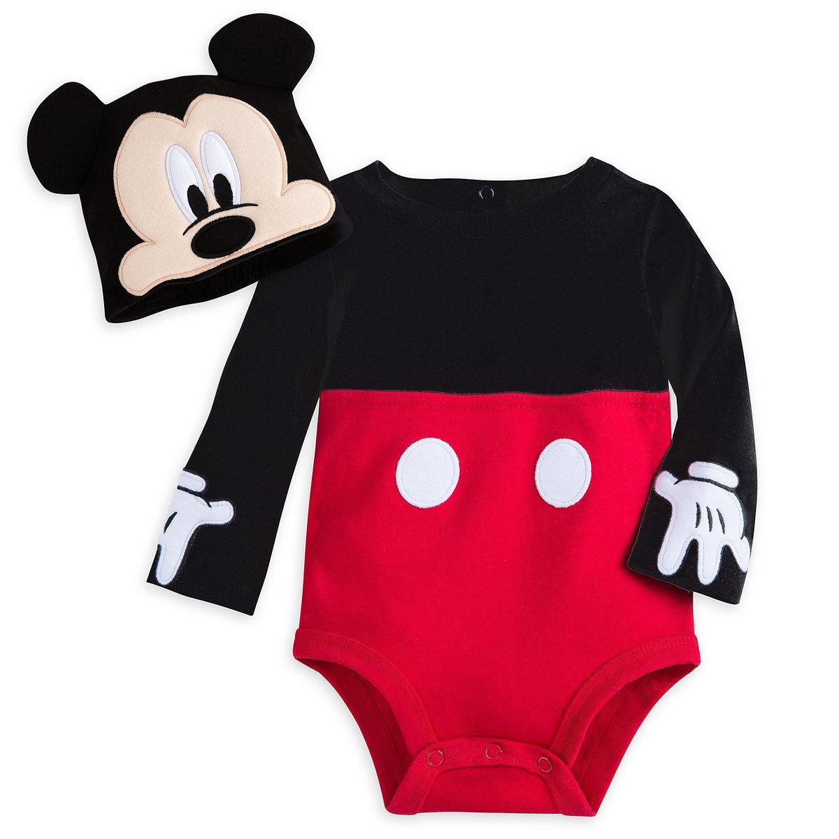 Disney Store Daisy Duck Halloween Costume Bodysuit 100/% Organic Cotton NEW
