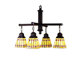 "Meyda Home Indoor Decorative 26""W Prairie Corn 4 Lt Chandelier 1235-24265 - $837.00"