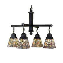 "Meyda Home Indoor Decorative 26""W Glasgow Bungalow 4 Lt Chandelier 1235-... - $815.40"
