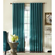 """NEW 2 Pack Light Filtering Window Panels in Teal 54"""" x 84"""" - $28.50"""