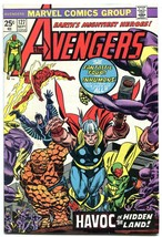 AVENGERS #127 1974- Ultron 7- Fantastic Four- Thor VF- - $44.14