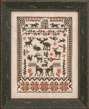 Northwoods cross stitch chart Ink Circles  - $9.00