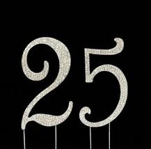 Number 25 for 25th Birthday or Anniversary Cake Topper Party Decoration ... - $18.53