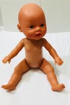 """Zapf Creations Baby Doll Blue Eyes 13"""" Vinyl Doll Vintage - $9.89"""