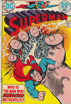 1974 DC Comics Superman #271 - $94.05