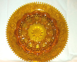 Vintage tiara glass amber egg plate thumb155 crop